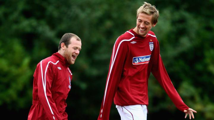 Peter Crouch, Wayne Rooney