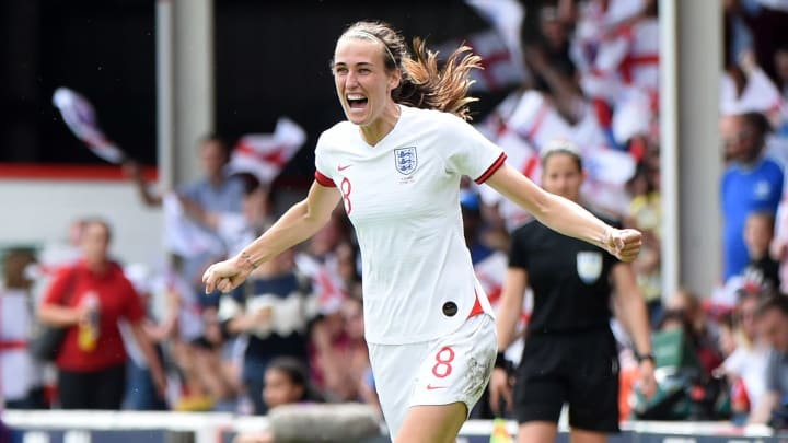 Jill Scott is the second England player to reach 150 caps