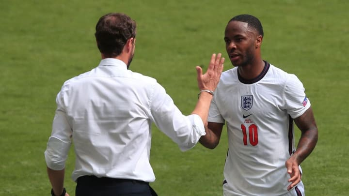 Gareth Southgate, Raheem Sterling
