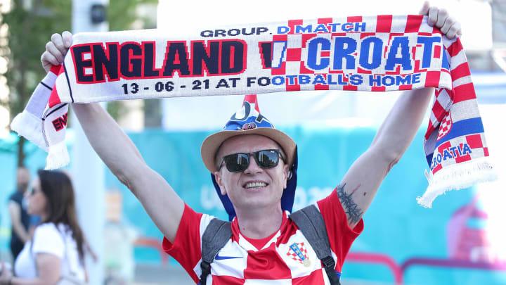 Inglaterra y Croacia se cruzan en su primer partido correspondiente al grupo D