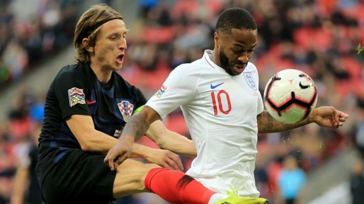 Raheem Sterling Inglaterra Croacia Eurocopa Luka Modric