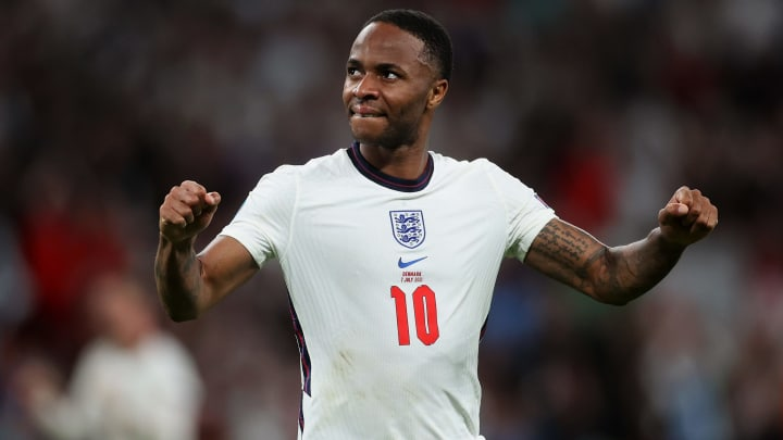 Raheem Sterling won a controversial penalty against Denmark