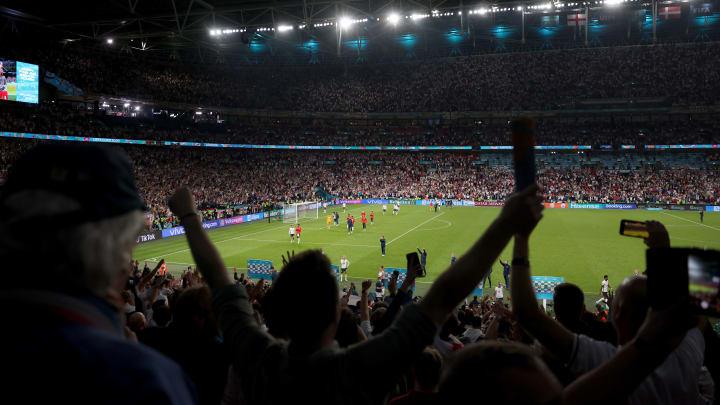 Estádio de Wembley é mundialmente conhecido pela mística atmosfera