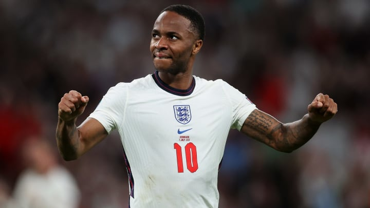 Raheem Sterling was England's star at Euro 2020