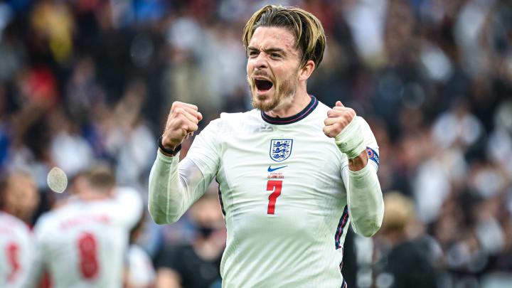 Jack Grealish featured at Euro 2020 for England