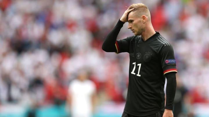 Timo Werner Alemanha Inglaterra Eurocopa