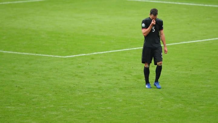 Mats Hummels Alemanha Eurocopa Inglaterra