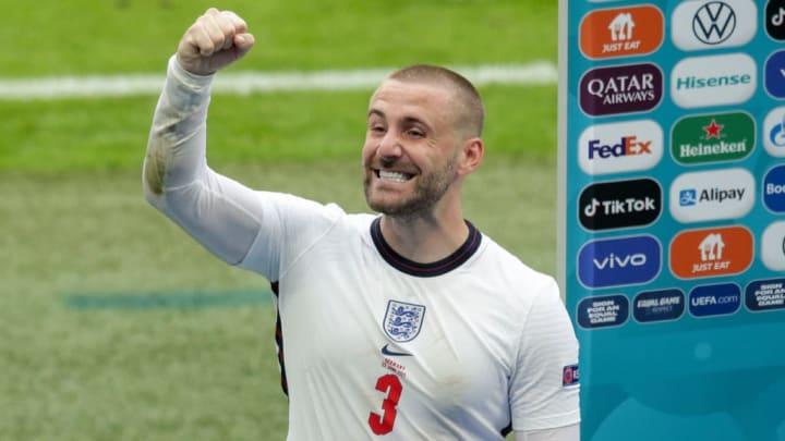 Luke Shaw Ucrânia Inglaterra Eurocopa Palpites