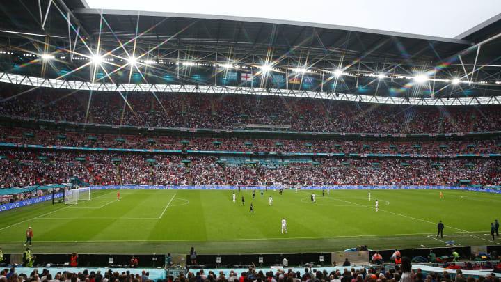 Wembley durante Inghilterra-Germania