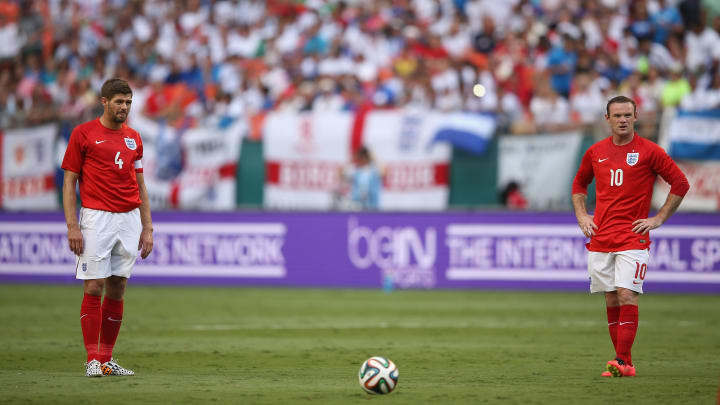 Steven Gerrard, Wayne Rooney