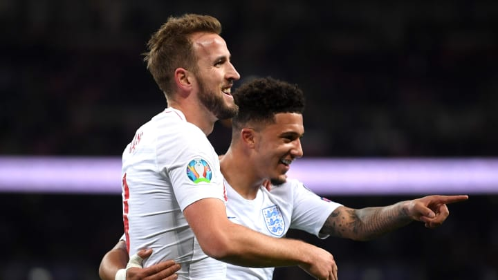 Jadon Sancho, Harry Kane
