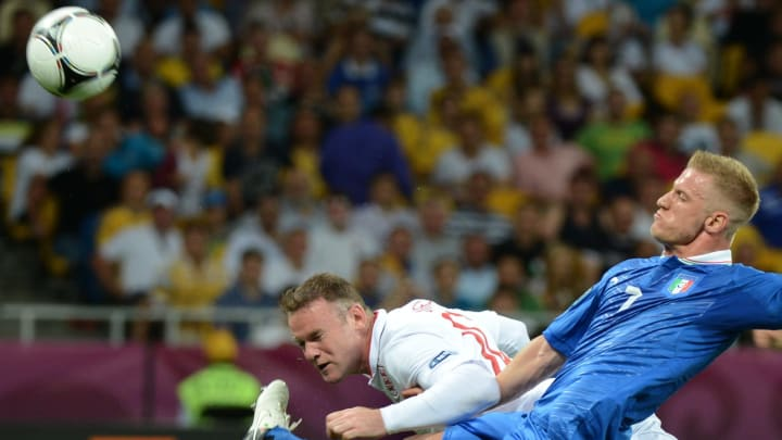 Italia e Inglaterra se enfrentaron en la Euro 2012