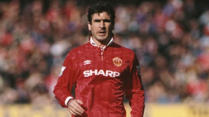 Eric Cantona of Manchester United in 1993