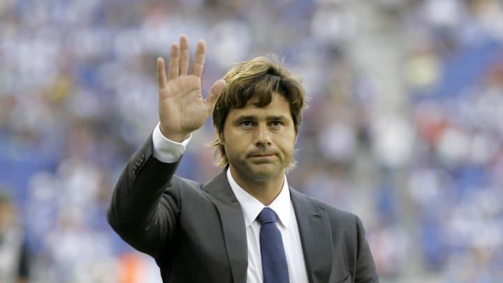 Espanyol's coach Mauricio Pochettino fro