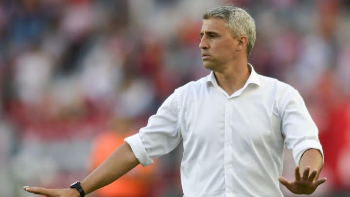 """Por otra parte, enfatizando en el futuro de Lautaro Martínez, Crespo aseguró: """"Me gustaría que se quede, lo veo bien allí""""."""