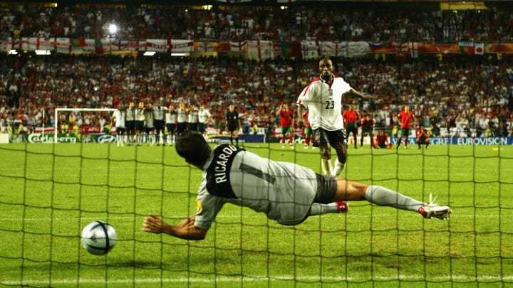 One of the most iconic penalty saves of all time