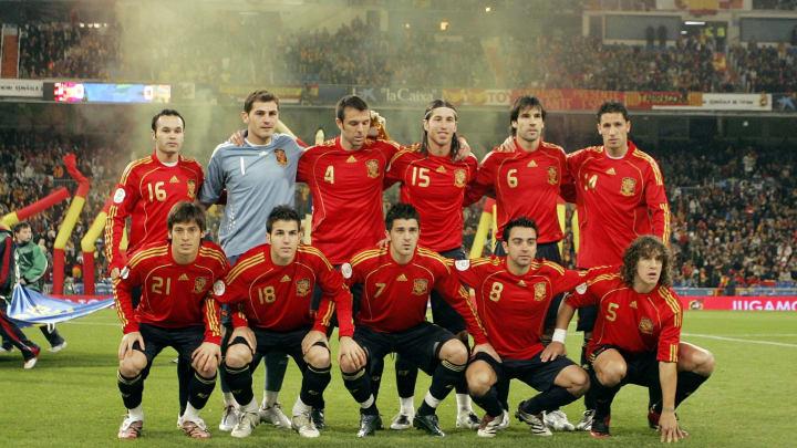 Euro2008 Qualifier - Spain v Sweden