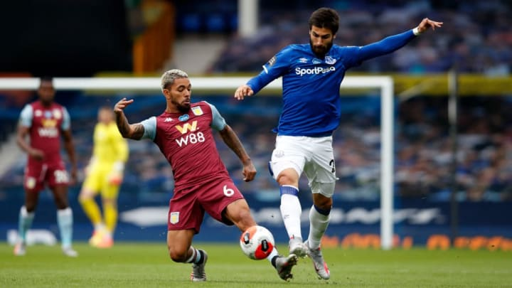 The midfield man was both combative and creative at Goodison Park