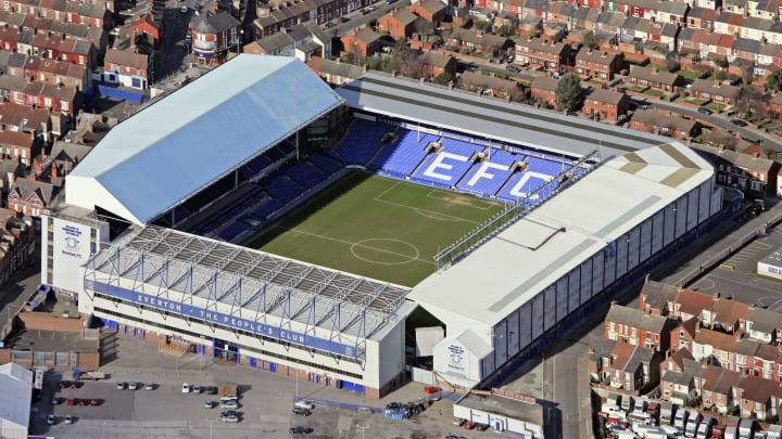 The Merseyside derby may not be played at Goodison Park