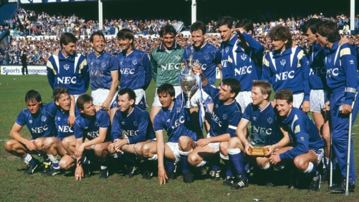 Everton were crowned champions twice in the 1980s