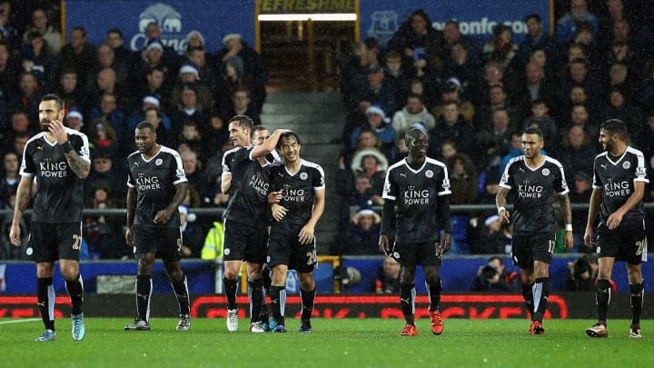 Leicester rarely lost in this black kit