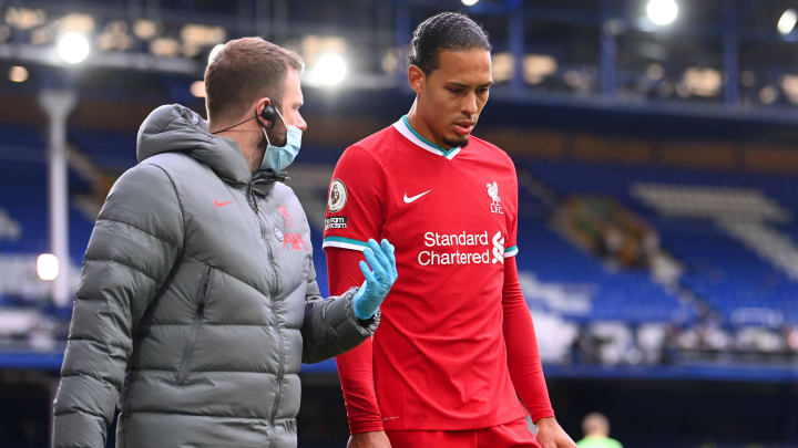 Van Dijk was the latest to suffer an injury blow