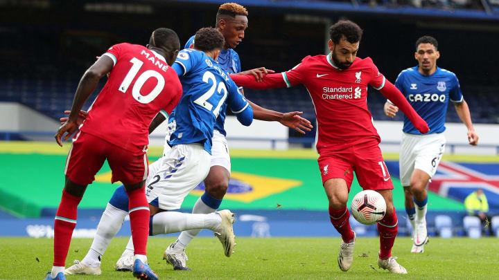 Mohamed Salah a offert le derby aux siens en inscrivant le deuxième but de Liverpool