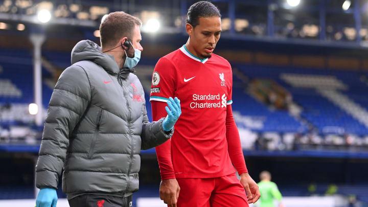 Virgil van Dijk is unlikely to return in 2020/21