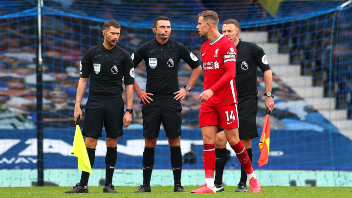 Liverpool Captain Jordan Henderson Jokes VAR 'Bend the Lines' to Give Offside Decisions