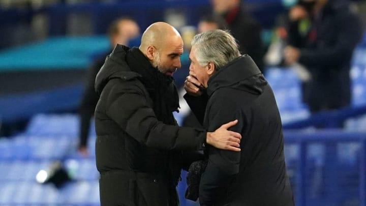 Pep Guardiola, Carlo Ancelotti
