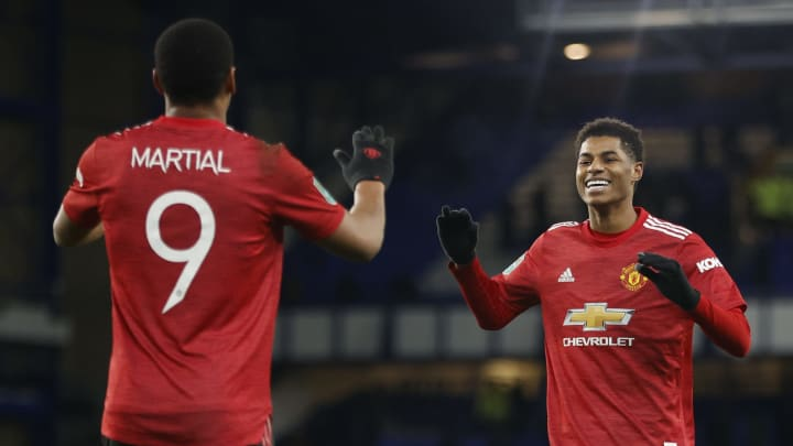 Can Martial and Rashford play together?