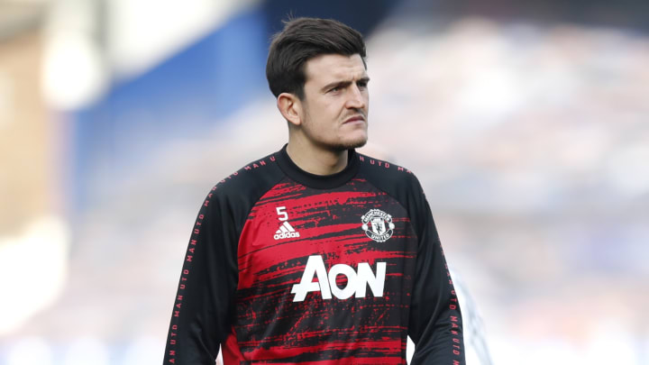 Harry Maguire's place in the United team has been questioned of late