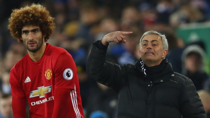 Mourinho would have to be crazy to go after Marouane Fellaini again...right?