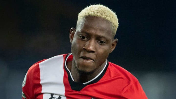 Moussa Djenepo was introduced in the second half