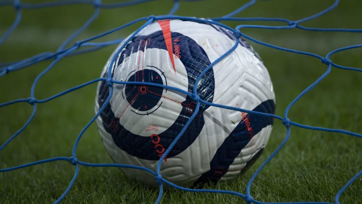 A soccer ball that could have been a Super Ball.