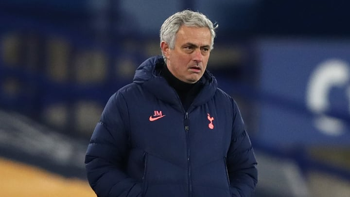 Mourinho is under growing pressure at Tottenham