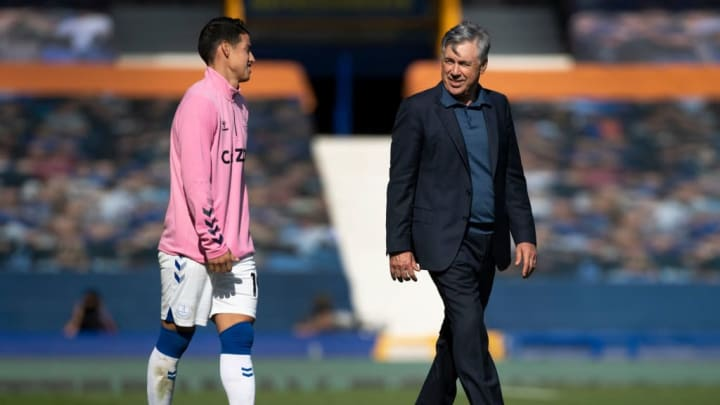 Carlo Ancelotti, James Rodríguez