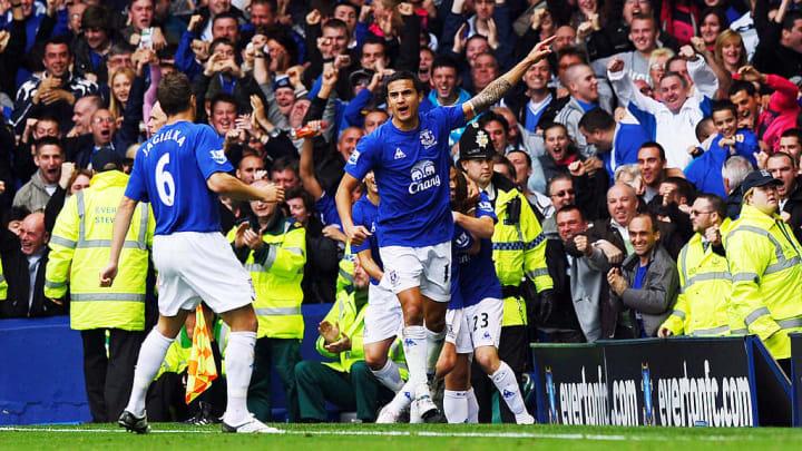 Everton's Australian midfielder Tim Cahi