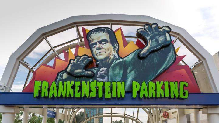 Monster Mash fans park for free.
