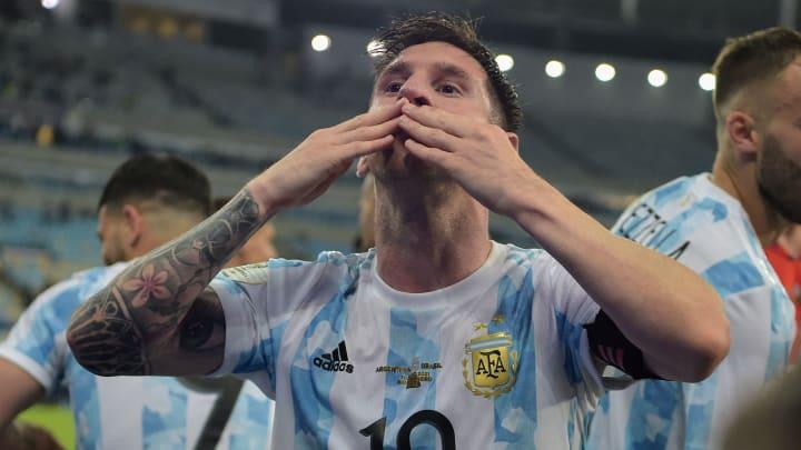 Messi ganó por fin un título con Argentina