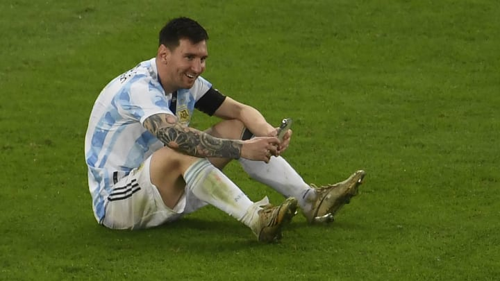 Messi was paid by WhatsApp for calling his family after winning Copa America