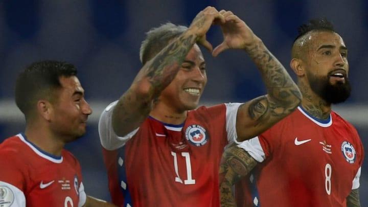 Eduardo Vargas Chile Copa AMérica Atlético-MG