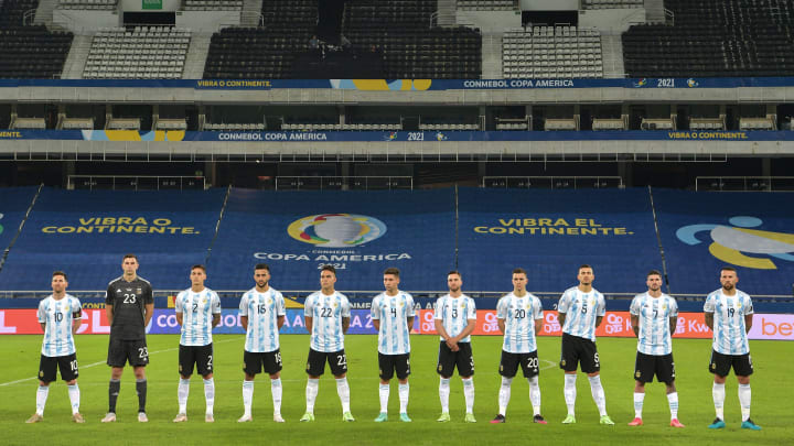 Argentina Pay Emotional Tribute to Diego Maradona Prior to Copa America Opener Against Chile