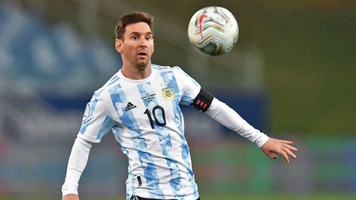 Lionel Messi Copa América Argentina