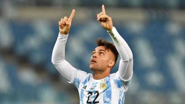 Inter de Milão Lautaro Martínez Argentina Copa América
