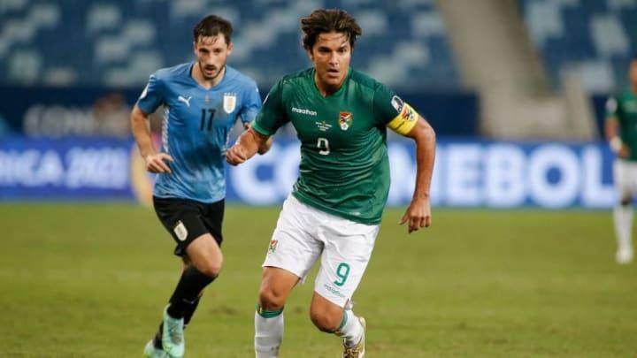 Marcelo Moreno Bolívia Argentina Copa América Cruzeiro