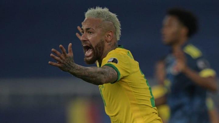 Neymar Brasil Copa América