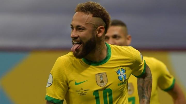 Neymar anotó en el debut de Brasil en la Copa América 2021