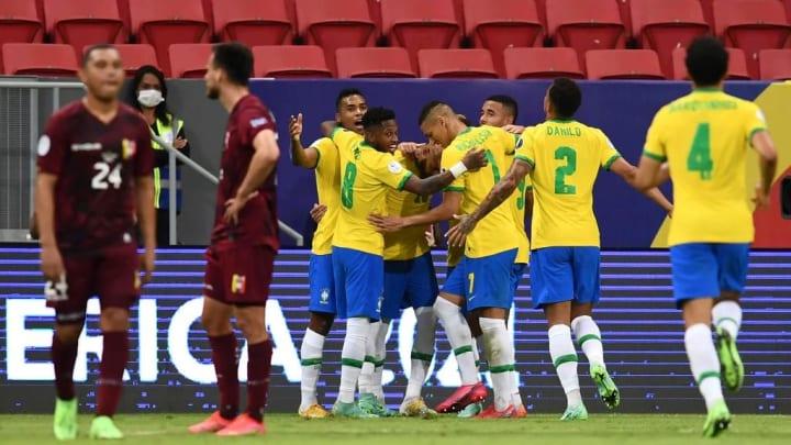 selecao brasileira venezuela copa america