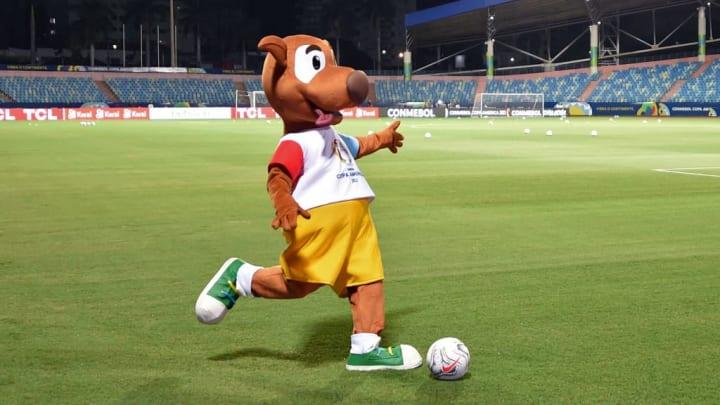Copa América Olímpico Equador Peru